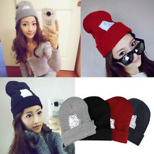 2016 CAT Hip-Hop Cap Men Women's Beanies Winter Cotton Knit Wool Hats