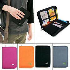 Travel Passport Credit Card Document Holder Case Bag Organizer Wallet Purse LJ