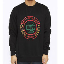 Crooks & Castles The Wreather Crewneck Sweatshirt in Black Sz M NWT Crooks