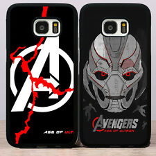 Avengers Age of Ultron Movie Poster Rubber Soft Cover Case for Samsung Galaxy S7