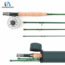 3/4/5/6/7/9WT Fly Fishing Combo Fast Action Carbon Fly Rod & Aluminum Fly Reel