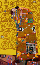 Vintage  FULFILLMENT by Klimt  Print on Paper or Canvas Giclee Poster 13X18 to 4