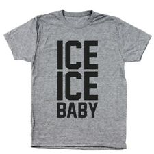 Ice Ice Baby 90S  Party  Retro Heather Gray Men's Tri-Blend T-Shirt