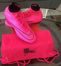 NEW Nike Mercurial Superfly FG Hyper Pink/Black Gray Soccer Cleats 641860-660