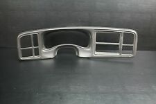 99-02 CHEVY SILVERADO 1500 TAHOE CLUSTER RADIO DASH  BEZEL TRIM PANEL CHARCOAL
