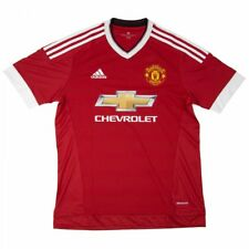 Adidas Performance Mens Manchester United Home Football Shirt (Red/White)