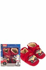Boys 1 Pair Totes Tots Truck Slippers with Grip
