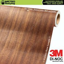 3M DI-NOC MAHOGANY WOOD Grain Vinyl Wrap Sheet Film Sticker Decal Roll Adhesive