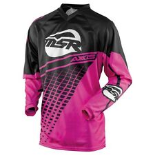 NEW MSR Racing YOUTH kids AXXIS PINK BLACK Jersey motocross off road atv