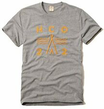 Nwt Hollister By Abercrombie Mens Graphic T Shirt Size S M L XL Gray