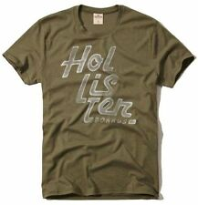 Nwt Hollister By Abercrombie Mens Graphic T Shirt Size S Green
