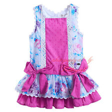 Kids Baby Girls Flower Dress Boutique Princess Birthday Wedding Party Pageant