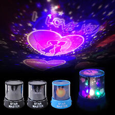 New LED Starry Night Sky Projector Lamp Cosmos Master Romantic Fairy Gift
