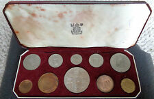 1953 GB Specimen Proof Coin Set QEII Coronation Royal Mint