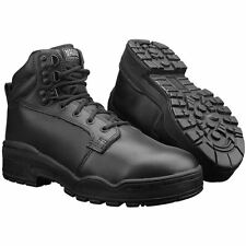 MAGNUM MENS PATROL CEN BOOTS TACTICAL MILITARY POLICE SECURITY LEATHER BLACK