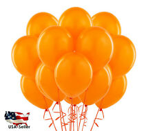 "15pcs 18"" GIANT ORANGE COLOR  Round Balloons Birthday Party Latex Balloons"