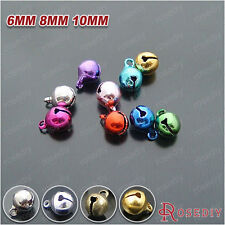 6MM 8MM 10MM Brass Cover Steel Bell End Beads Findings Accessories 12141