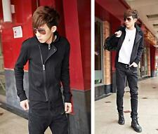 New Fashion Mens Spring Sweater Slim Fit Zipper Jacket Casual Korean Coats M-2XL