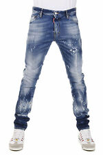 DSQUARED2 Dsquared² Men Jeans Denim COOL GUY JEAN  Cotton Blend Made in Italy