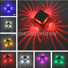 3W LED Palm Wall Projector Light Sconce Porch KTV Party Bar Shop Decor Light