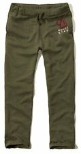 New Hollister By Abercrombie Mens Sweatpants Trousers Green
