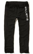 New Hollister By Abercrombie Mens Sweatpants Trousers Black