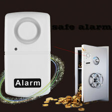 New Wireless Window Door Security Vibration Detector Alarm 110db White I6