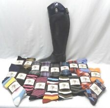 Allon Equestrian Unisex Knee High Boot Socks in  Various Colors and Patterns