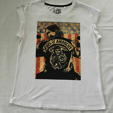 NEW - Women's Sons Of ANARCHY T-Shirt - Size 12, 14, 16