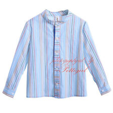Toddler Boy Striped Shirt Little Gentelman Kids Casual Cotton Top Blouse Clothes