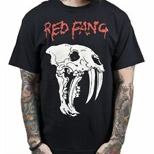 Red Fang Fang Skull Shirt SM, MD, LG, XL, XXL New