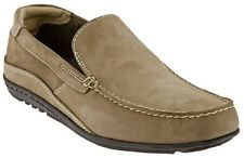 Rockport CAPE NOBLE Vicuna Nubuck Tan Suede Driving Loafers - MSRP $110
