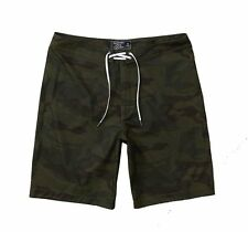Nwt Abercrombie By Hollister Men's Board Fit Swim Shorts Camo
