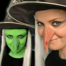 Halloween Fancy Dress Costume Accessory Witch Scary Pointy Witch Nose Rubber