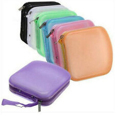 Pocket Case DVD Portable Carry 40 Protector CD Storage Holder Travel Wallet