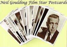"Picturegoer ""W Series"" 1940s Male Film/Movie Star Actor Postcards #1 to #500"