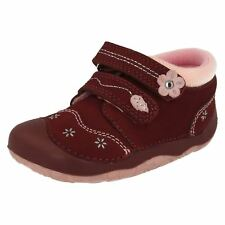 Girls Toddler Burgundy Start rite shoes PIXIE