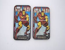 Ironman iPhone 5 iPhone 4 Phone Case Superhero Snap On Cover Marvel Comic