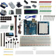 Ultimate Starter Kit for Arduino UNO R3 1602 LCD Servo Sensor LED Breadboard I6