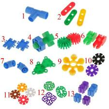 Multicolored Building Blocks Puzzle Bricks Educational Toy Fun Play Gifts