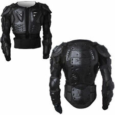 Motorcycle Body Armor Jacket Motocross Racing Spine Chest Protection Gear S-3XL