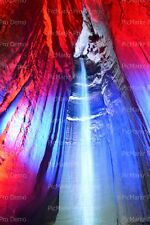 Ruby Falls Cave/Cavern Formations ~ Sheet Cake Topper ~ Edible ~ D21411