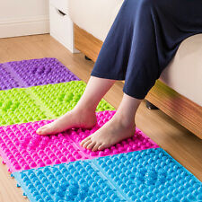 Useful Colorful Acupuncture Foot Massager Medical Therapy Mat Foot Massage Pad