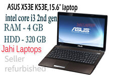 "ASUS X53E K53E,15.6"" laptop,intel core i3 2nd gen,4GB RAM,320GB HDD,WIN 7-085913"