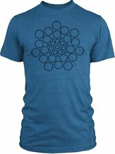 Big Texas Stars Mandala (Black) Vintage Tri-Blend T-Shirt