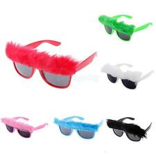 Novelty Crystal Feather Glasses Fancy Dress Costume Party Sunglasses Shades