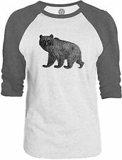 Big Texas Baby Bear 3/4-Sleeve Raglan Baseball T-Shirt