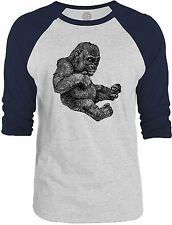 Big Texas Baby Gorilla 3/4-Sleeve Raglan Baseball T-Shirt