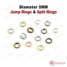 50g Diameter:5MM Jump Rings & Split Rings Jewelry Findings Accessories 2591