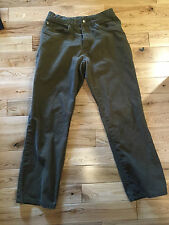 Patagonia Mens Pants Organic Cotton Olive Green Size 32 x 30